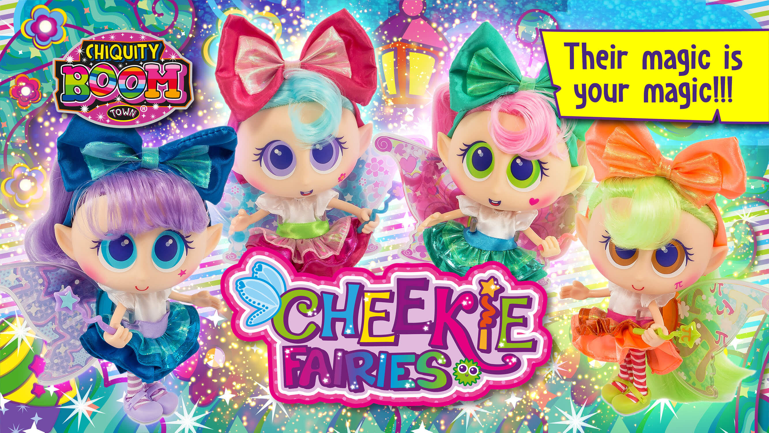 The Cheekie Fairies are here!!!